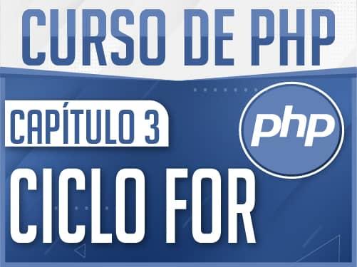 Curso de PHP Capítulo 3