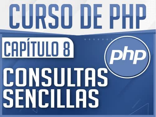 Curso de PHP Capítulo 8