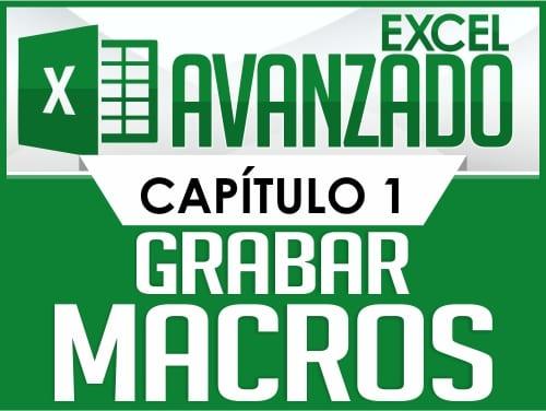 Excel Avanzado - Capitulo 1
