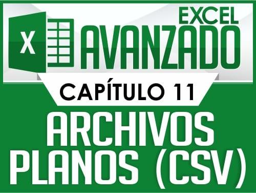 Excel Avanzado - Capitulo 11