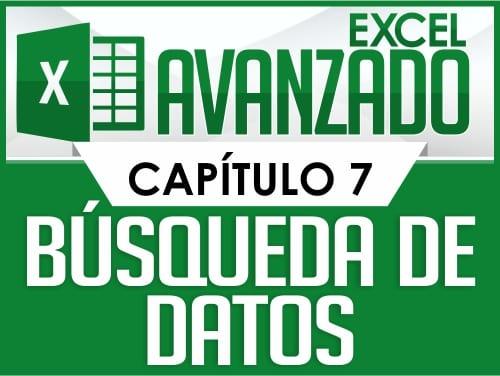Excel Avanzado - Capitulo 7