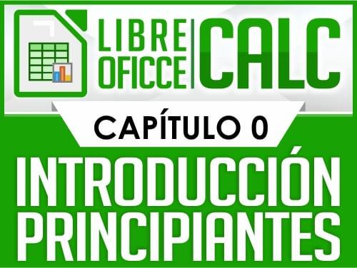 Curso de Libre Oficce Calc - Capítulo 0