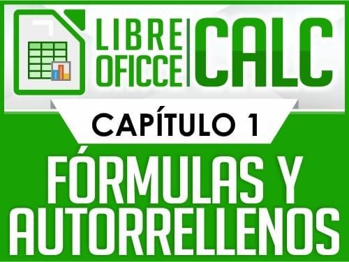 Curso de Libre Oficce Calc - Capítulo 1
