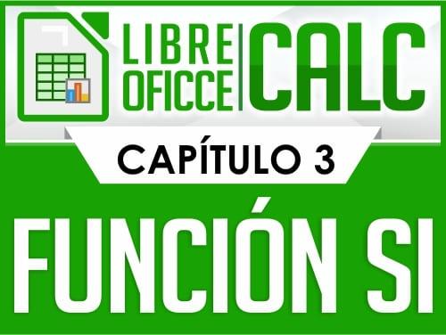Curso de Libre Oficce Calc - Capítulo 3