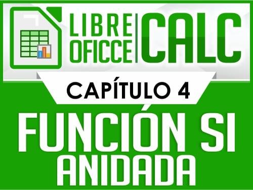 Curso de Libre Oficce Calc - Capítulo 4