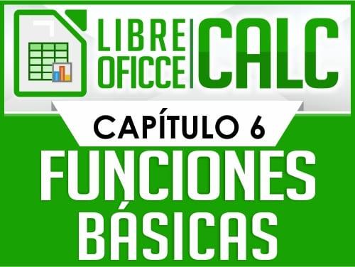 Curso de Libre Oficce Calc - Capítulo 6