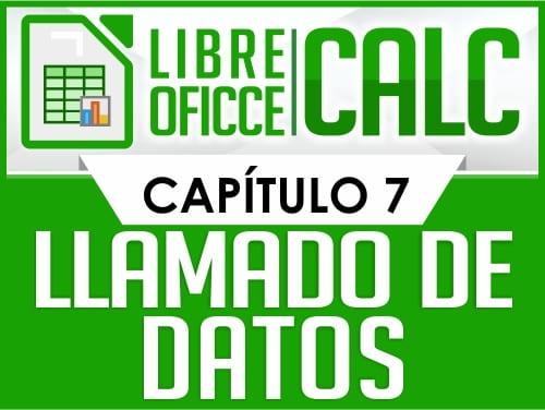 Curso de Libre Oficce Calc - Capítulo 7