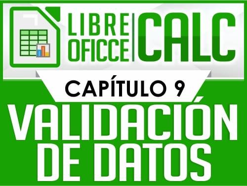 Curso de Libre Oficce Calc - Capítulo 9