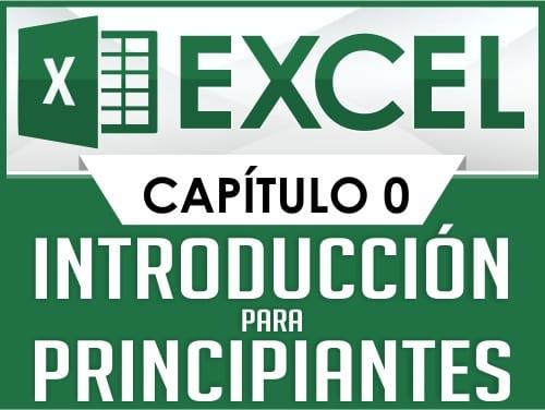 Curso de Excel - Capitulo 0