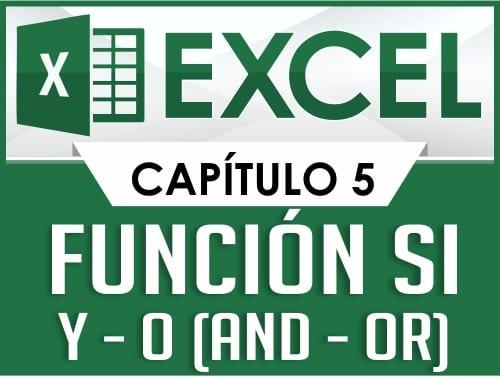 Curso de Excel - Capitulo 5