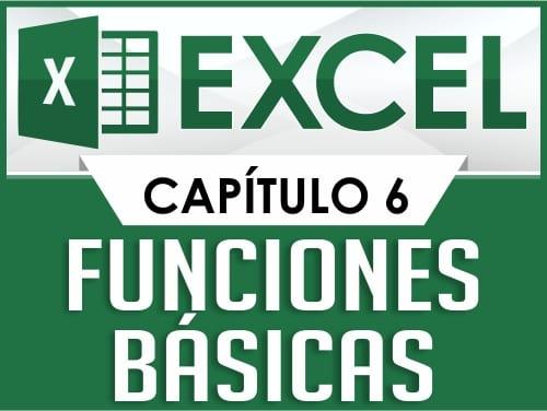 Curso de Excel - Capitulo 6