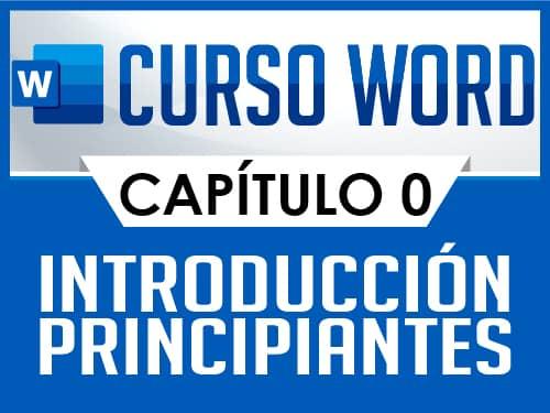 Curso de Word Básico - Capítulo 0