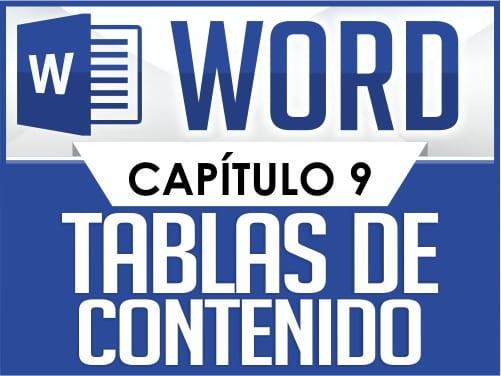 Curso de Word Básico - Capítulo 9