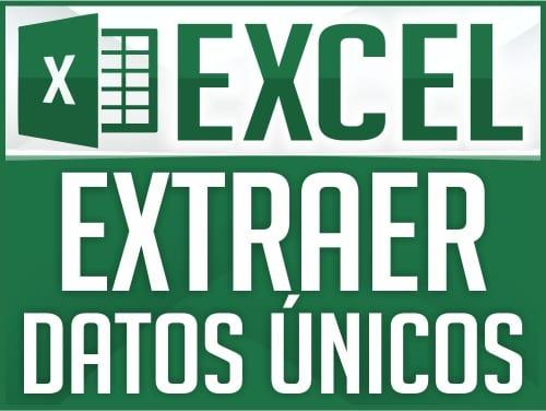 Extraer Datos Únicos