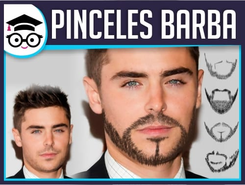 Barba con Pinceles en Photoshop