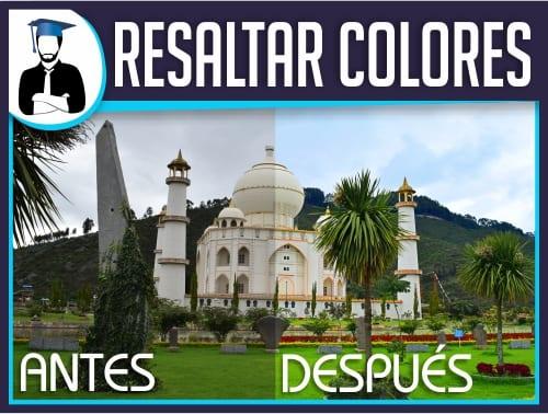 Resaltar Colores en Photoshop