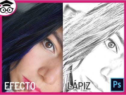 Tutorial photoshop efecto lapiz
