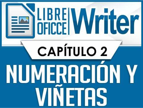 LibreOffice Writer – Capítulo 2
