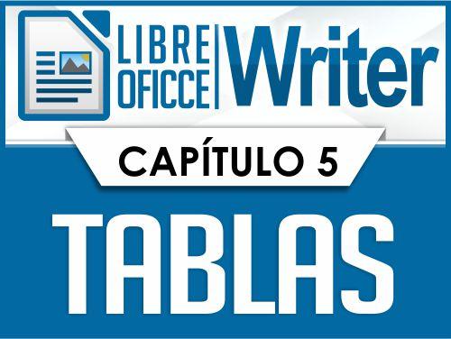 LibreOffice Writer – Capítulo 5
