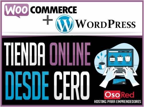 Crear tienda online desde cero - WooCommerce