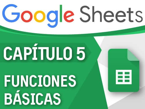 Google Sheets – Capítulo 5