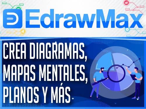 EdrawMax Crea diagramas