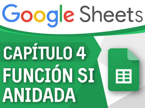 Capitulo 4 - Google Sheets