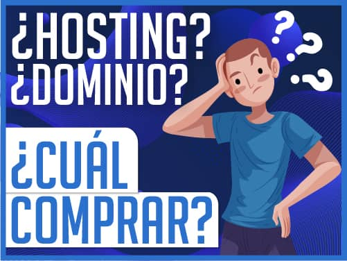 ¿Hosting y dominio?