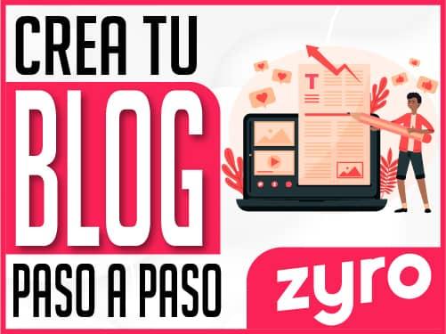 Crean un Blog
