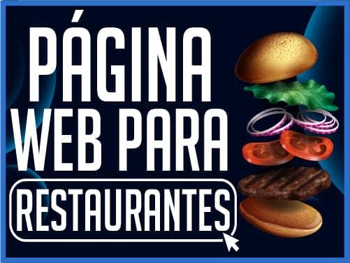 Crear Página Web WordPress para Restaurantes