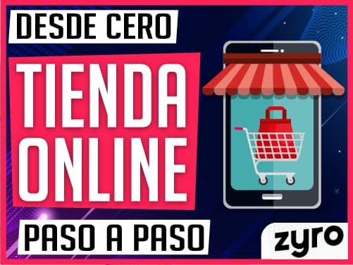 Tienda virtual con Zyro