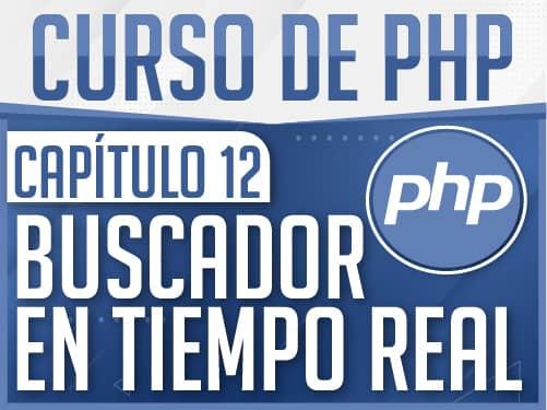Curso de PHP Capítulo 12