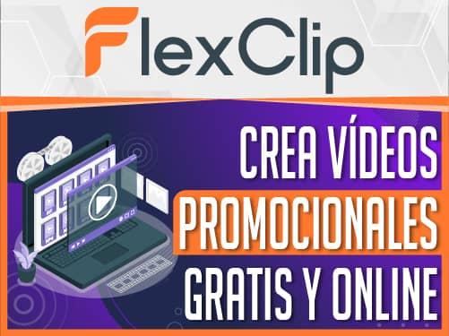 FlexClip editor de vídeos