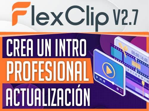 Crea intros con FlexClip